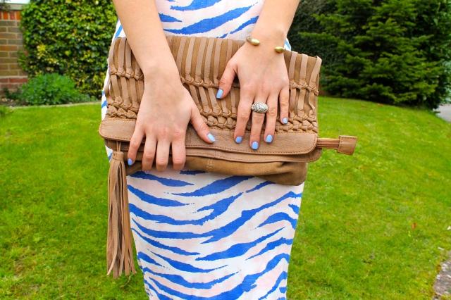 Dress closeup rings