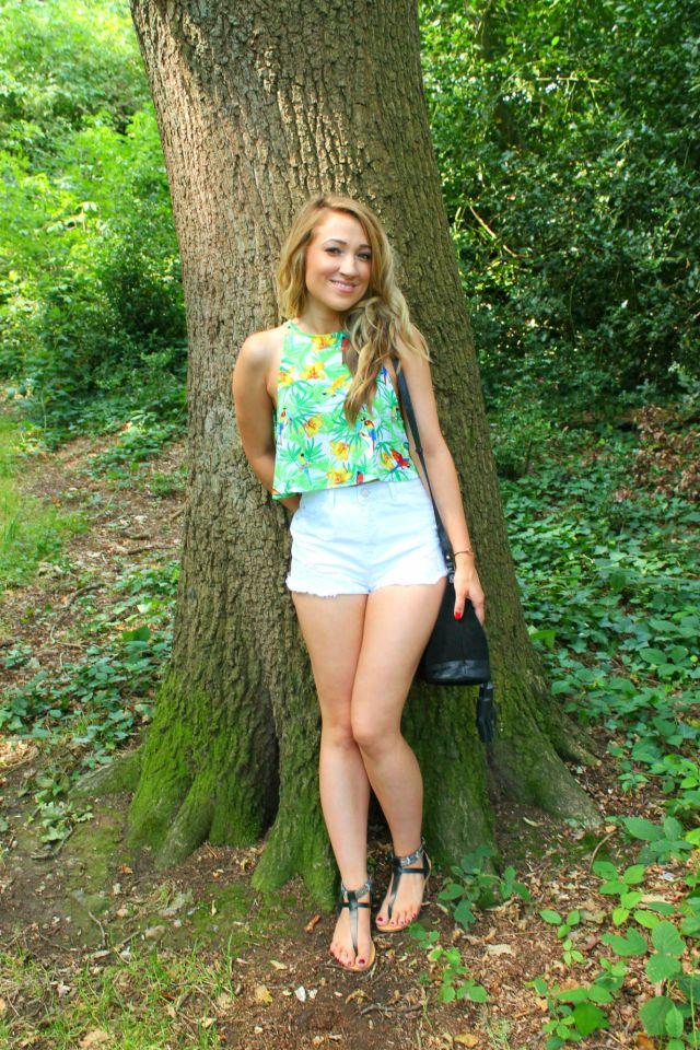 Hallie shortsS Topshop